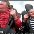 אבאל'ה בוא ללונה פארק? הילדה שבסרטון חשבה שזה רעיון טוב לקחת את אבא ללונה פארק ולעלות איתה על אחד המתקנים היותר אקסטרים, היא...