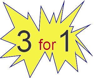 שלוש במחיר של אחד