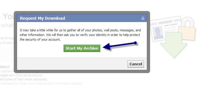 גיבוי לפייסבוק, איך לגבות את הפייסבוק, איך עושים גיבוי לפייסבוק