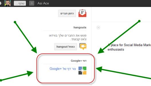 גוגל פלוס, google+, google plus