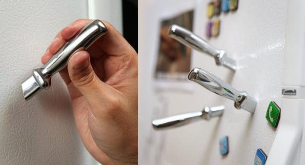 מגנטים סכינים למקרר