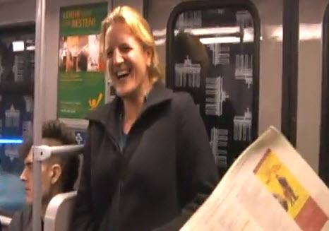 צחוקים ברכבת התחתית